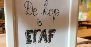 De kop is eraf