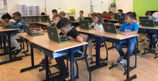 chromebooks in de klas